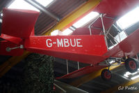 G-MBUE @ X4WT - Preserved at the Newark Air Museum, Winthorpe, Nottinghamshire. X4WT - by Clive Pattle
