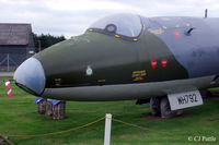 WH791 @ X4WT - True ID is WH791, It was repainted to depict WH792 of 31 Sqn - Preserved at the Newark Air Museum, Winthorpe, Nottinghamshire. X4WT - by Clive Pattle