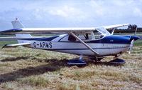 G-ARWS @ EGTC - PFA Rally Cranfield 1983.Original paint scheme - by sparrow9