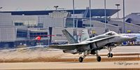 188769 @ CYUL - On 2016-03-16 - 188769, 1986 McDonnell Douglas CF-188A Hornet, C/N: 0485/A400 make a courtesy visit te Montreal Pierre Elliot Trudeau International airport CYUL - by Claude Lafreniere