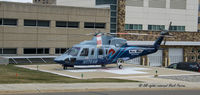 N176AM @ BEH - Picking up Patient at Lakeland Saint Joseph, Michigan - by Mark Parren 269-429-4088 - Saint Joseph, Michigan USA