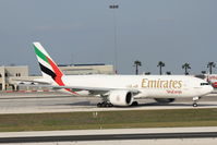 A6-EFJ @ LMML - B777 A6-EFJ Emirates Cargo - by Raymond Zammit
