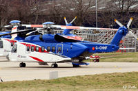 G-CHHF @ EGPD - Parked up at Aberdeen EGPD - by Clive Pattle
