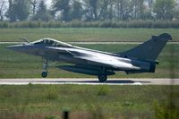 36 @ LFRJ - Dassault Rafale M, Landing rwy 08, Landivisiau Naval Air Base (LFRJ) - by Yves-Q
