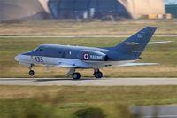 133 @ LFRJ - Dassault Falcon 10 MER, Landing rwy 08, Landivisiau Naval Air Base (LFRJ) - by Yves-Q