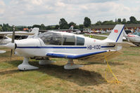 HB-KDD @ EBDT - Schaffen fly-in. - by Raymond De Clercq