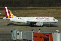 D-AGWN @ EDDK - Germanwings, is here shortly after pushback at Köln / Bonn Airport(EDDK) - by A. Gendorf