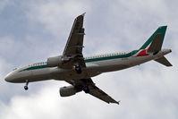 EI-DTO @ EGLL - Airbus A320-216 [4152] (Alitalia) Home~G 01/07/2010. On approach 27R.