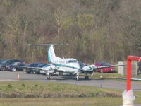 D-ICHG @ EGTE - Long shot on warm early spring day at Exeter - by magnaman