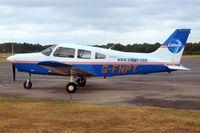 G-FNPT @ EGLK - Piper PA-28-161 Warrior III [2842163] Blackbushe~G 14/07/2010 - by Ray Barber