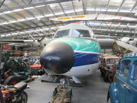 ZK-BXH @ NZWF - in crowded museum hangar - by magnaman