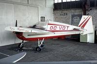 OO-WOT @ EBZW - Tipsy T.66 Nipper II [49] Genk-Zwartberg~OO 20/05/1982. From a slide.