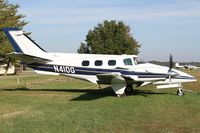 N410G @ KTHA - DFA 2014 at the Beech Party