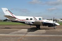 N1876L @ KTHA - DFA 2014 at the Beech Party