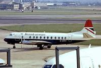 G-APEY @ EGLL - Vickers Viscount 806 [382] (British Airways) Heathrow~G 23/05/1978. From a slide.