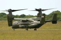 168324 @ LFRB - Presidential USMC Bell-Boing MV-22B Osprey (Code 08-cn D0226), Landing rwy 25L, Brest-Bretagne airport (LFRB-BES) - by Yves-Q
