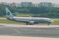 B-5318 @ WSSS - 5-5318 at Singapore, Changi 31.3.11 - by GTF4J2M