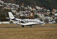 G-CIEL @ LOWI - Innsbruck 17.1.09 - by leo larsen