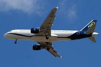 SX-OAU @ EGLL - Airbus A320-214 [4193] (Olympic Air) Home~G 11/07/2010. On approach 27R.