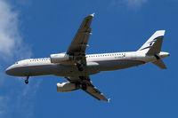 SX-DGB @ EGLL - Airbus A320-232 [4165] (Aegean Airlines) Home~G 11/07/2010. On approach 27R.