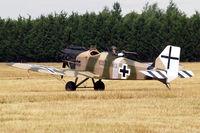 G-BUYU @ EGLM - Bowers Fly Baby 1-A (PFA 016-12222) White Waltham~G 12/07/2010 - by Ray Barber