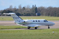 G-LEAB @ EGSH - About to depart from Norwich. - by Graham Reeve