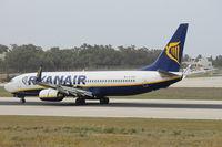 EI-DHO @ LMML - B737-800 EI-DHO Ryanair - by Raymond Zammit