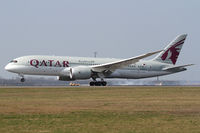 A7-BCY @ LOWW - Qatar Airways Boeing 787 - by Andreas Ranner