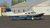 N8444C @ KMOD - Locally-based 1981 Piper Seminole parked on the ramp at Modesto County Airport, Modesto, CA. - by Chris Leipelt