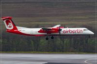 D-ABQH @ EDDR - De Havilland Canada DHC-8-402, - by Jerzy Maciaszek