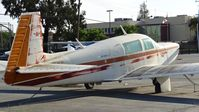 N231FM @ KRHV - Locally-based 1979 Mooney M20K looking in dreadful condition at Reid Hillview Airport, San Jose, CA. - by Chris Leipelt