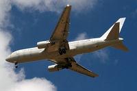 JY-JAG @ EGLL - Boeing 767-204ER [24757] (Jordan Aviation/Silverjet) Home~G 11/07/2010. On approach 27R.