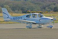 N100YY @ EGFH - SR20, Deenethorpe based, previously N292CD, seen parked up. - by Derek Flewin