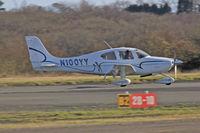 N100YY @ EGFH - SR20, Deenethorpe based, previously N292CD, seen departing runway 28 en-route RTB. - by Derek Flewin