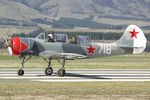 ZK-YAC @ NZWF - At 2016 Warbirds Over Wanaka Airshow , Otago , New Zealand