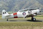 ZK-WAR @ NZWF - At 2016 Warbirds Over Wanaka Airshow , Otago , New Zealand
