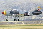 ZK-YIK @ NZWF - At 2016 Warbirds Over Wanaka Airshow , Otago , New Zealand - ex G-YAKV