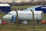 G-AVMP @ EGNJ - former British Airways and European Aviation BAC 1-11 used as a cabin fire trainer at Humberside Airport - by Chris Hall
