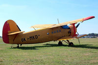 OK-MKD @ LKMB - Antonov An-2R [1G186-31] Milada Boleslav~OK 09/09/2012