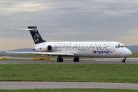 EC-JTK @ LOWW - McDonnell Douglas DC-9-87 [53348] (Spanair) Vienna-Schwechat~OE 13/09/2007
