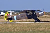 OE-AER @ LOAN - Piper PA-18-95 Super Cub [18-5587] Weiner-Neustadt Ost~OE 13/09/2007