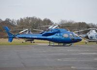 G-TOPC @ EGTB - Aerospatiale AS355F1 Ecureuil II at Wycombe Air Park.. Ex I-LGOG. - by moxy