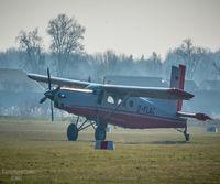 D-FLAC @ EDMG - Die Pilatus Porter kurz vor dem Abfug vom Flugplatz Günzburg - by Laufer Kevin