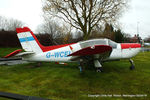 G-WCEI @ NONE - displayed at Tomfield Nursery, Rixton, Warrington - by Chris Hall