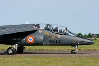 E125 @ LFOT - Dassault-Dornier Alpha Jet E (705-LK), Taxiing to parking area, Tours - St Symphorien Air Base 705 (LFOT-TUF) Open day 2015 - by Yves-Q