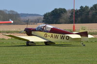 G-AWWO @ X3CX - Parked at Northrepps. - by Graham Reeve