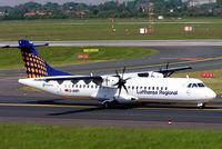 D-ANFI @ EDDL - Aerospatiale ATR-72-212A [662] (Lufthansa Regional) Dusseldorf-International~D 19/05/2005 - by Ray Barber