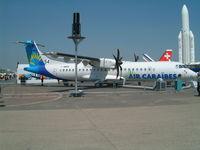 F-WWEE @ LFPB - Aerospatiale ATR-72-212A [682] (Aerospatiale/Air Caraibes) Paris Le Bourget~F 16/06/2003 - by Ray Barber