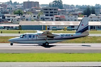 HC-BUD @ SEQU - Rockwell Commander 690C Jetprop 840 [11669] Quito-Mariscal Sucre Int'l~HC 02/04/2003 - by Ray Barber