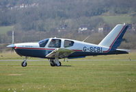 G-SCBI @ EGKA - Socata TB20 Trinidad at Shoreham. - by moxy